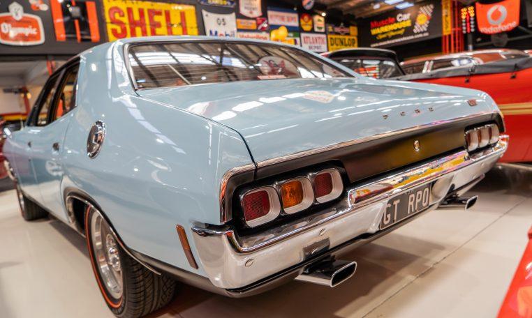 Light Blue Muscle Car   Muscle Car Warehouse