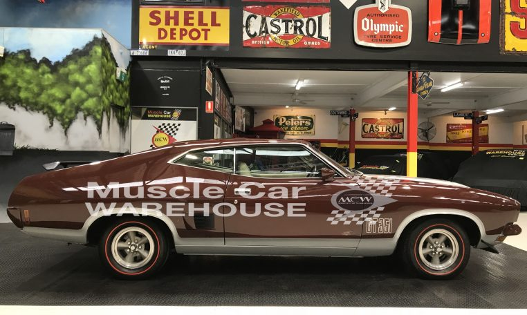 Ford Falcon XB GT Coupe Walnut Glow | Muscle Car Warehouse