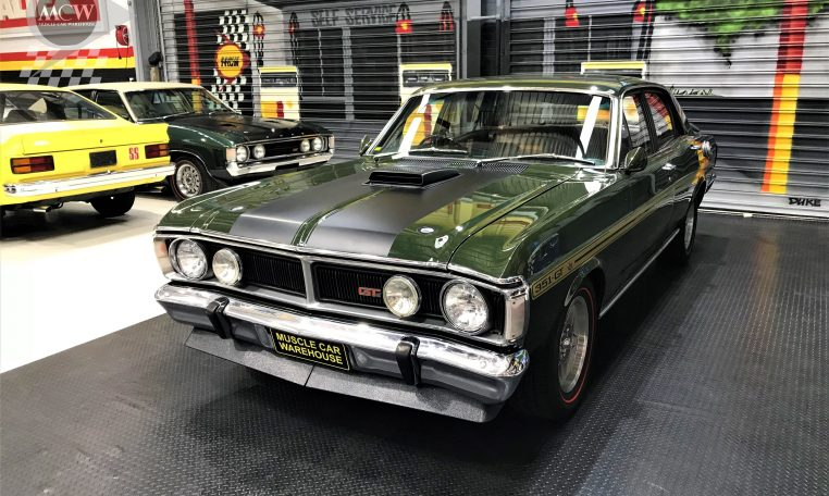 Ford Falcon XY GT Monza Green | Muscle Car Warehouse