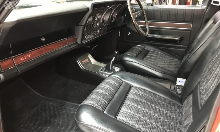 Ford Falcon XY GT Track Red Interior | Muscle Car Warehouse