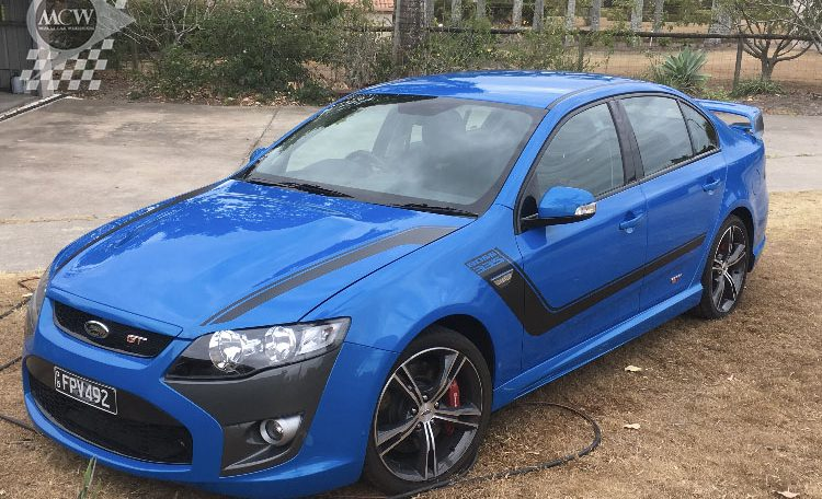 Ford Falcon FG GT Nitro Blue | Muscle Car Warehouse