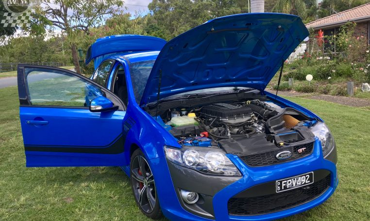 Ford Falcon FG GT Nitro Blue Engine | Muscle Car Warehouse