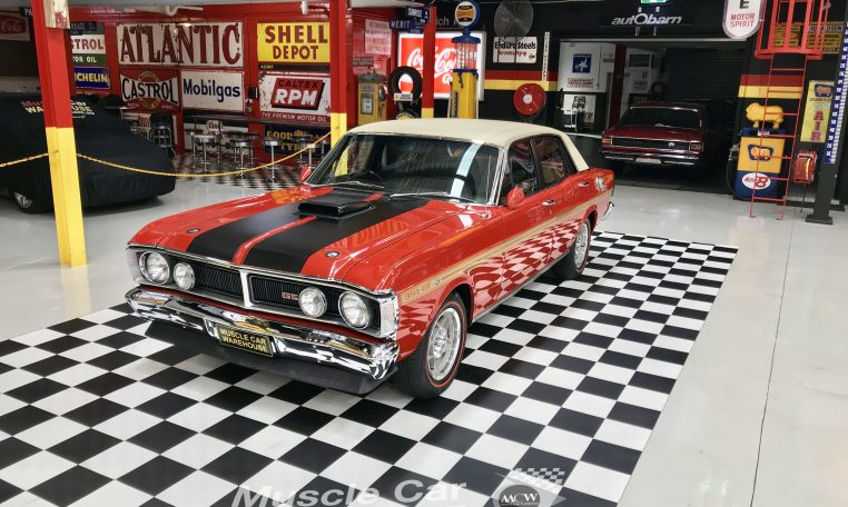Ford Falcon XY GT Track Red | Muscle Car Warehouse
