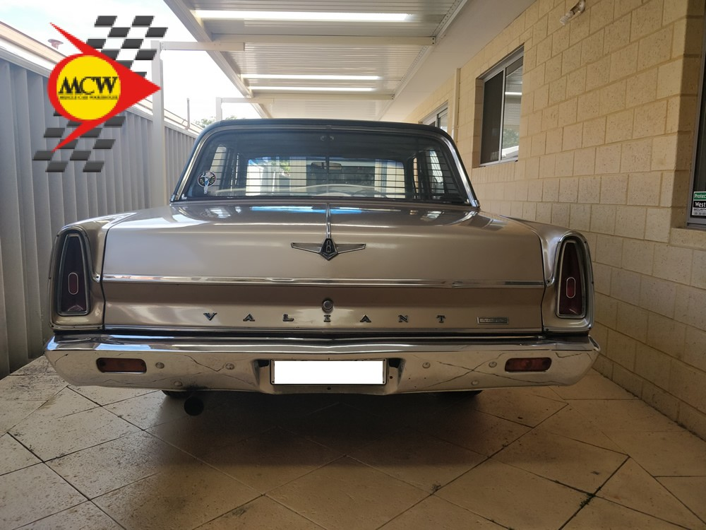 1966 Valiant VC V8 Gold Factory 273 V8 Matching - Muscle