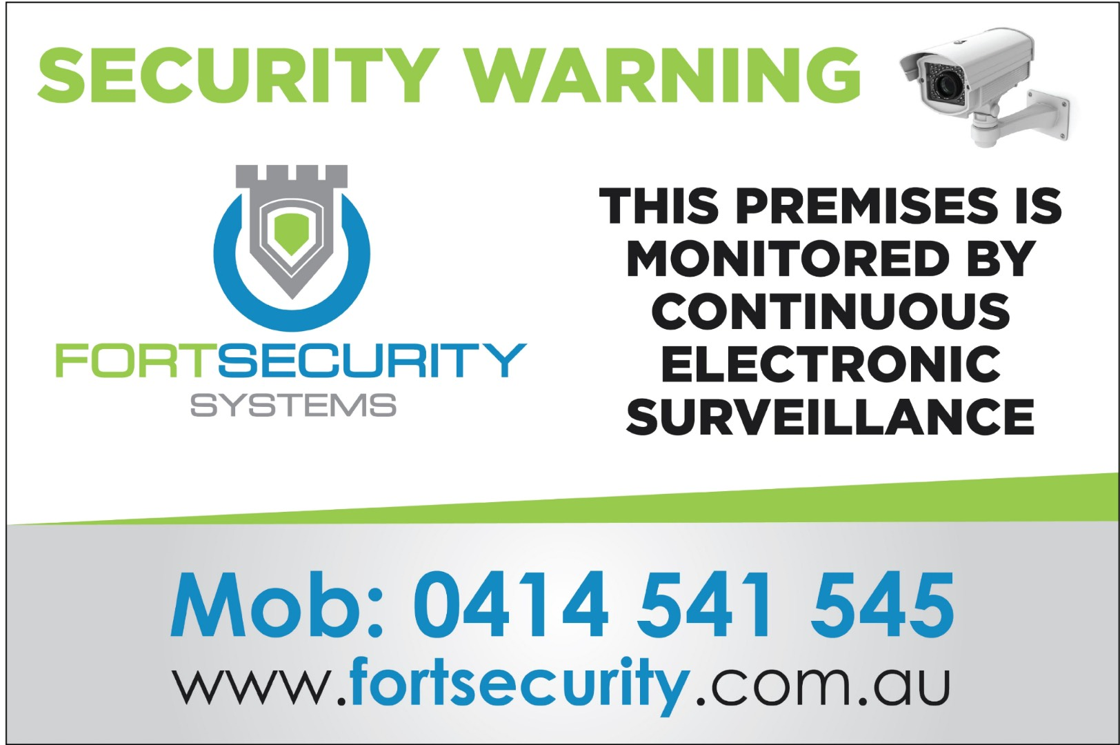 Fort Security Systems | Partner | Muscle Car Warehouse