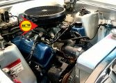 1970 XW GS Fairmont Sedan Engine | Muscle Car Warehouse