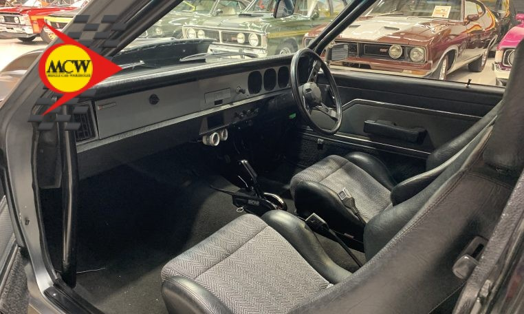 1977 LX Holden Torana Hatch Back Coupe Interior | Muscle Car Warehouse