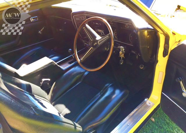 1973 Ford Falcon XB GT Hardtop Interior | Muscle Car Warehouse