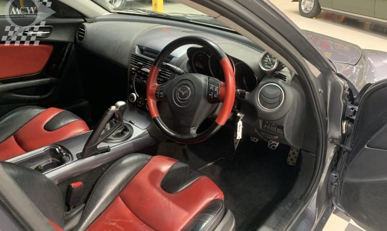 Mazda RX8 Interior | Muscle Car Warehouse