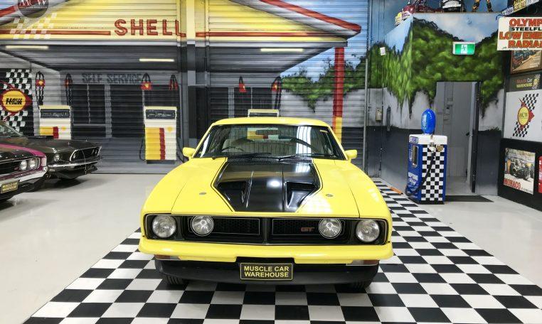 Ford Falcon XB GT Yellow Blaze | Muscle Car Warehouse