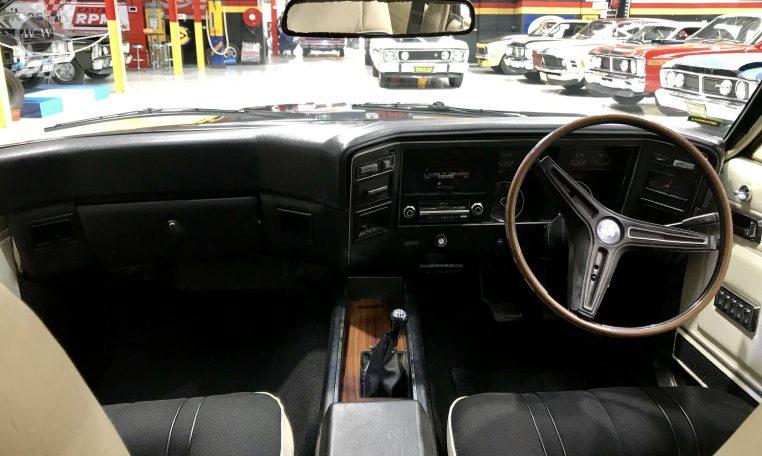 Ford Falcon XB GT Yellow Blaze Interior | Muscle Car Warehouse