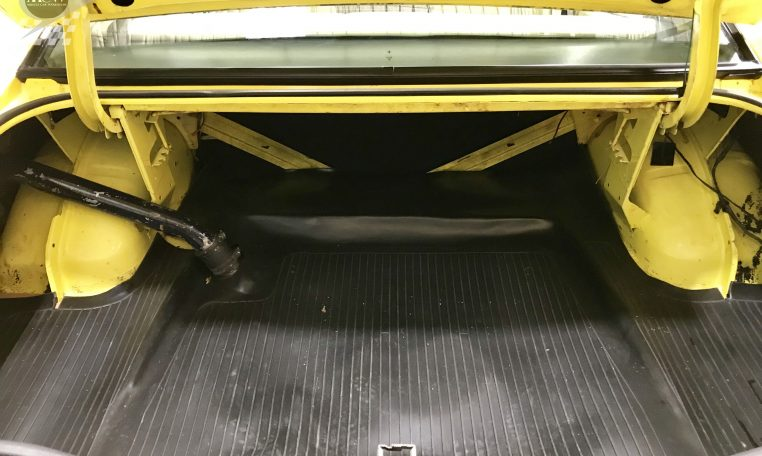 Ford Falcon XB GT Yellow Blaze Trunk   Muscle Car Warehouse