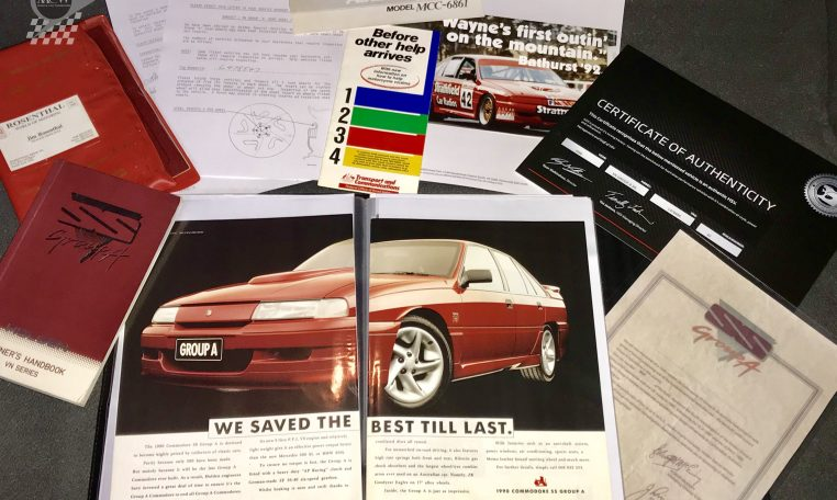 Holden Commodore VN SS Group A Certificates | Muscle Car Warehouse