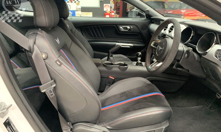 2017 Ford Mustang Tickford Bathurst '77 Special Interior   Muscle Car Warehouse