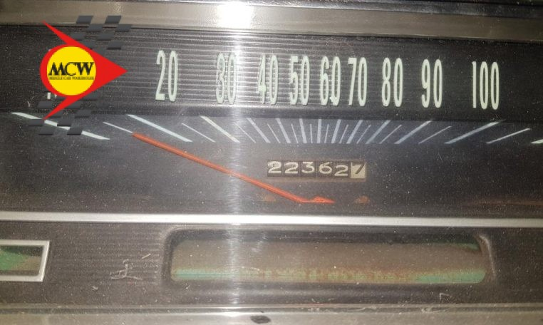 1966 Chev El Camino Speedometer | Muscle Car Warehouse