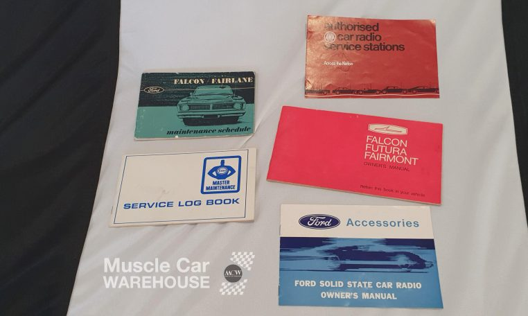 1970 Ford XY GS Fairmont K-Code Papers | Muscle Car Warehouse