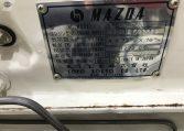 Mazda 808 Model Plate   Muscle Car Warehouse
