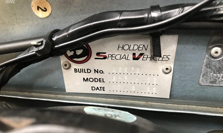 Holden VL SS GroupA Walkinshaw Number | Muscle Car Warehouse