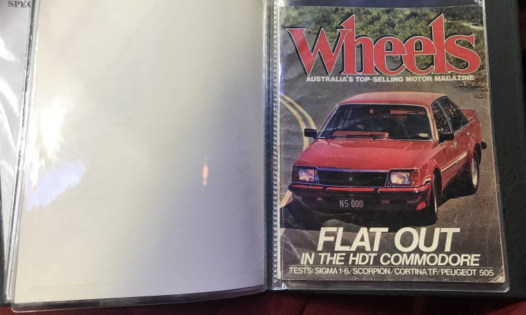 Holden Commodore VC HDT Papers | Muscle Car Warehouse
